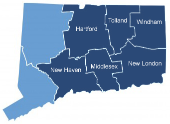 Connecticut Map